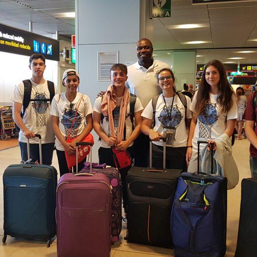 Los participantes viajando con Willie Ladson desde Ourense.