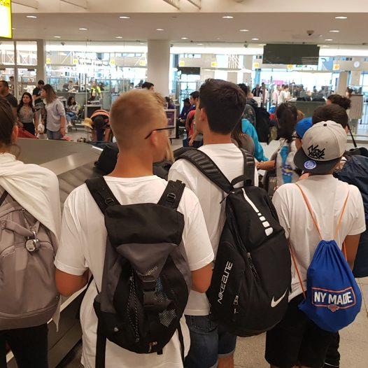 Los participantes con salidas desde otras ciudades en la península.