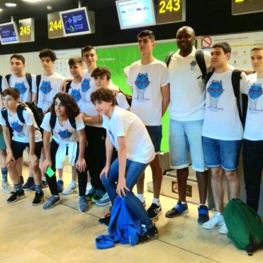 Los participantes con salida desde Madrid con Willie a EEUU.